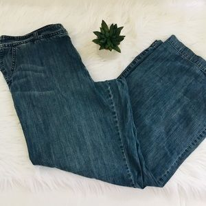 Gap Soft Denim Trouser Jeans Sz 16